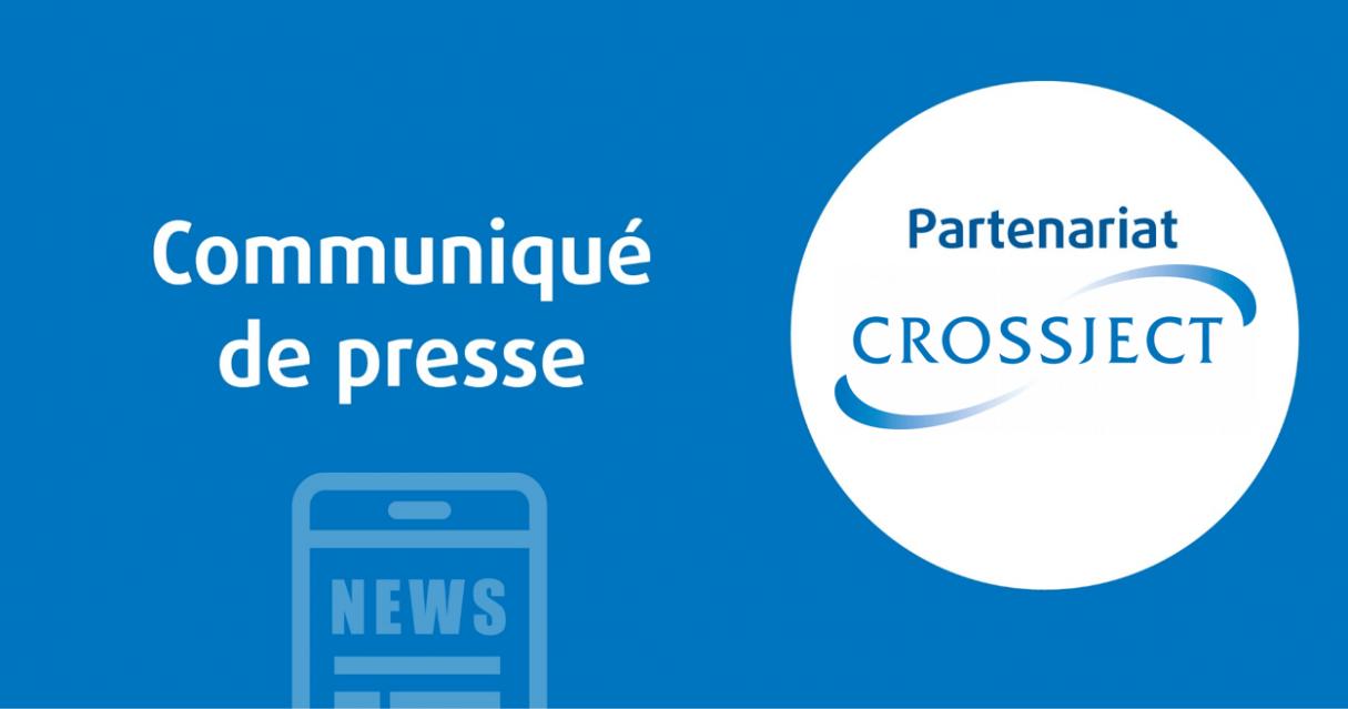 Cenexi et Crossject renforcent leur partenariat afin d'assurer la montée en puissance de la production industrielle et commerciale de l'injecteur sans aiguille ZENEO® sur le site Cenexi Braine-l'Alleud (Belgique).